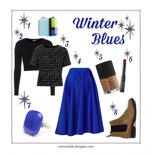 OOTD: Winter Blues