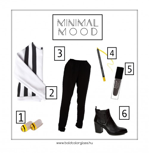 February Outfit: Minimal Mood